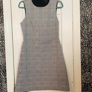 Theory • Plaid A Line Dress